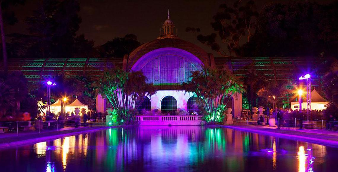Botanical Garden Balboa Park Christmas